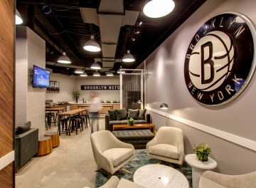 BROOKLYN NETS FAMILY LOUNGE